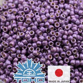 TOHO® Biseris Permafinish - Matte Galvanized Pale Lilac TR-11-PF579F 11/0 (2,2 mm) 10 g.