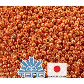 TOHO® Biseris PermaFinish - Galvanized Saffron TR-11-PF562 11/0 (2,2 mm) 10 g.