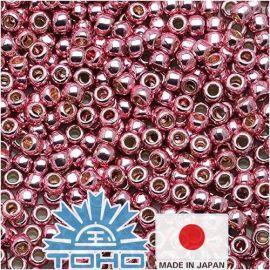 TOHO® Biseris PermaFinish - Galvanized Pink Lilac TR-11-PF553 11/0 (2,2 mm) 10 g.