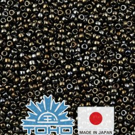 TOHO® Biseris Metallic Iris - Brown TR-11-83 11/0 (2,2 mm) 10 g.