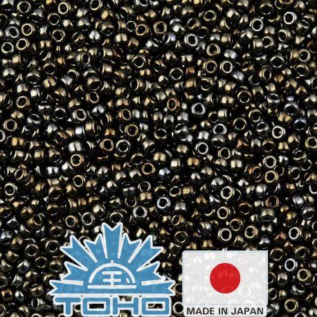 TOHO® Biseris Metallic Iris - Brown TR-11-83 11/0 (2,2 mm) 10 g.