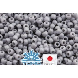 TOHO® Biseris Opaque Gray TR-11-53 11/0 (2,2 mm) 10 g.
