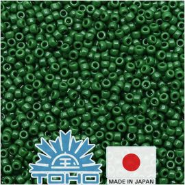 TOHO® Biseris Opaque Pine Green TR-11-47H 11/0 (2,2 mm) 10 g.
