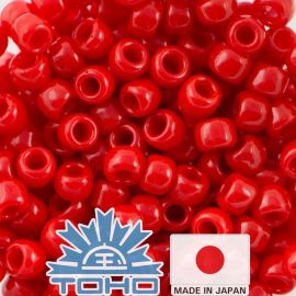 TOHO® Biseris Opaque Cherry TR-11-45A 11/0 (2,2 mm) 10 g.