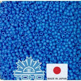 TOHO® Biseris Opaque-Frosted Cornflower TR-11-43DF 11/0 (2,2 mm) 10 g.