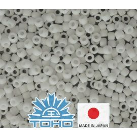 TOHO® Biseris Opaque-Frosted White TR-11-41F 11/0 (2,2 mm) 10 g.