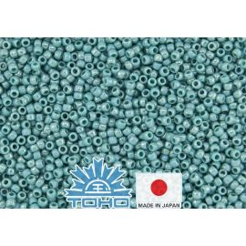 TOHO® Biseris Opaque-Rainbow Turquoise TR-11-413 11/0 (2,2 mm) 10 g.