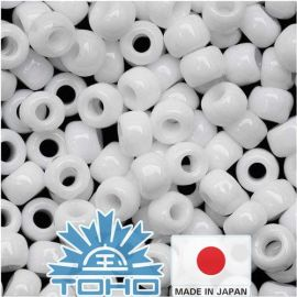 TOHO® Biseris Opaque White TR-11-41 11/0 (2,2 mm) 10 g.
