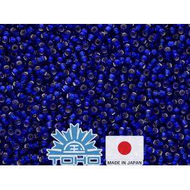 TOHO® Biseris Silver-Lined Cobalt TR-11-28 11/0 (2,2 mm) 10 g.