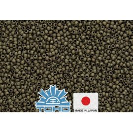 TOHO® Biseris Frosted Antique Bronze TR-11-223F 11/0 (2,2 mm) 10 g.