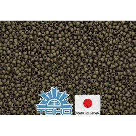 TOHO® Biseris Frosted Antique Bronze TR-11-223F 11/0 (2,2 mm) 10 g.