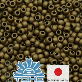 TOHO® Biseris Frosted Bronze TR-11-221F 11/0 (2,2 mm) 10 g.