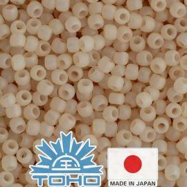 TOHO® Biseris Ceylon Frosted Lt Ivory TR-11-147F 11/0 (2,2 mm) 10 g.