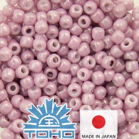 TOHO® Biseris Opaque-Lustered Pale Mauve TR-11-127 11/0 (2,2 mm) 10 g.