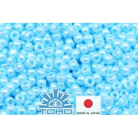 TOHO® Biseris Opaque-Lustered Pale Blue TR-11-124 11/0 (2,2 mm) 10 g.