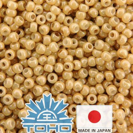 TOHO® Biseris Opaque-Lustered Dk Beige TR-11-123D 11/0 (2,2 mm) 10 g.
