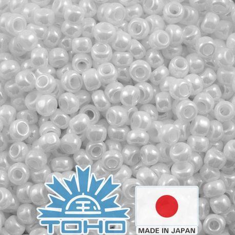 TOHO® Biseris Opaque-Lustered White TR-11-121 11/0 (2,2 mm) 10 g.