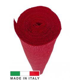 589 Cartotecnica Rossi crepe paper 2.50 x 0.50 m., 180 g.