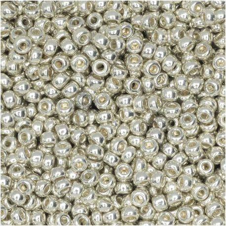 MIYUKI biseris 15-91051, sidabro spalvos 15 mm, 1 maišelis