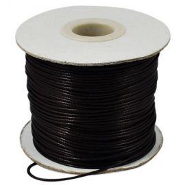 Vaškuota poliesterio virvutė 0.80 mm., 1 metras
