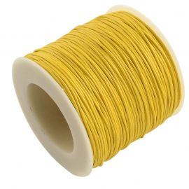 Waxed cotton cord 1.00 mm., 1 meter