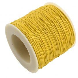 Vaškuota medvilninė virvutė 1.00 mm., 1 metras