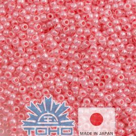TOHO® Biseris Ceylon Impatiens Pink 11/0 (2,2 mm) 10 g., 1 maišelis