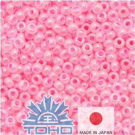 TOHO® Biseris Ceylon Cotton Candy 11/0 (2,2 mm) 10 g., 1 maišelis