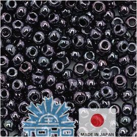 TOHO® Biseris Metallic Amethyst Gun Metal 11/0 (2,2 mm) 10 g.