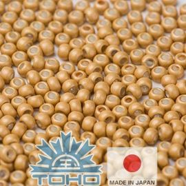 TOHO® Biseris Galvanized-Matte Starlight 11/0 (2,2 mm) 10 g.