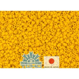 TOHO® Biseris Opaque-Frosted Sunshine 11/0 (2,2 mm) 10 g.