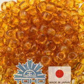 TOHO® Biseris Transparent Topaz 11/0 (2,2 mm) 10 g.