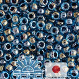 TOHO® Biseris Inside-Color Blue Raspberry 11/0 (2,2 mm) 10 g., 1 maišelis