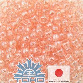 TOHO® Biseris Transparent-Lustered Rose 11/0 (2,2 mm) 10 g., 1 maišelis