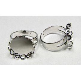 Žiedo pagrindas kabošonui / kamėjai 15 mm