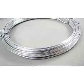 Aliuminio vielutė 1 mm, 10 m.