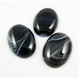 Sardonikso kabošonas 25x18 mm