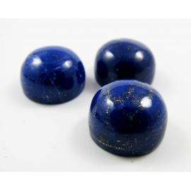 Natūralus Lapis Lazuli kabošonas 12 mm AA klasės