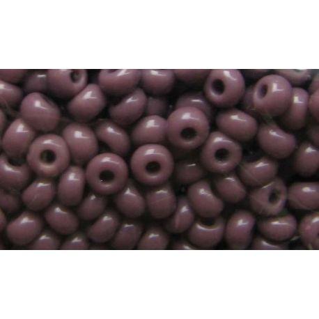 Čekiškas biseris 10/0 (2,3 mm) dydžio, 23040-10 violetinės spalvos, apvalios formos 50g