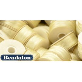 Beadalon Thread, Creamy Color Size D 58.5 m