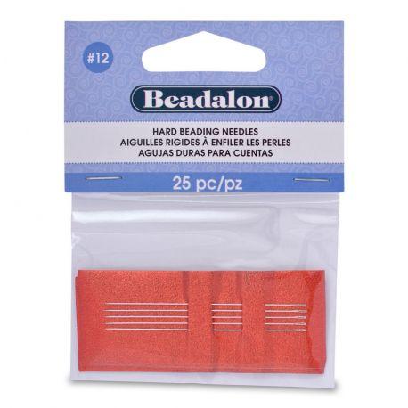Beadalon vėrimo adatos 12 dydžio 25 vnt.