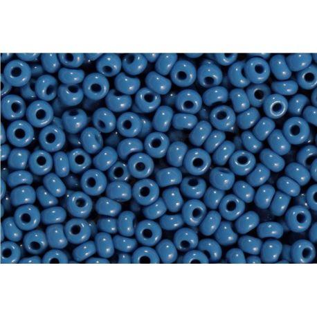 Čekiškas biseris 10/0 (2,3 mm) dydžio, 33210-10 melsvos spalvos, apvalios formos 50g