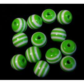 Acrylic beads 18x10 mm