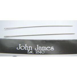 John James vėrimo adata 12 dydžio, 5 vnt.