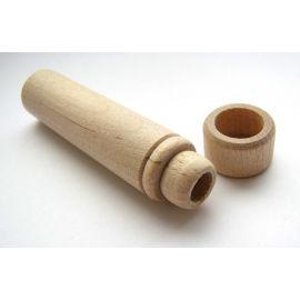 Wooden needle box 59x14 mm