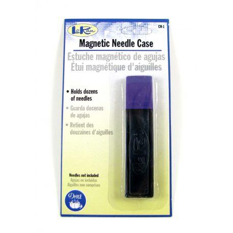 Magnetinė dėžutė adatoms su dangteliu, 70x17 mm