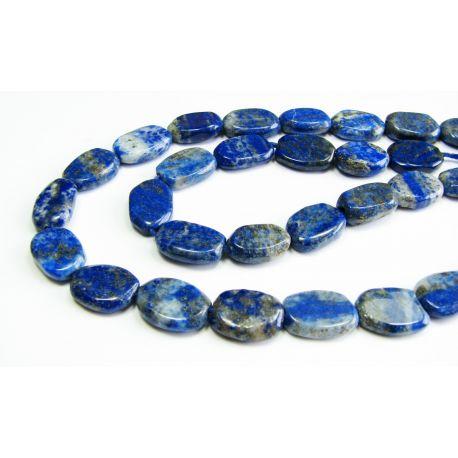 Natūralūs Lapis Lazuli akmeniniai karoliukai 8-9 mm