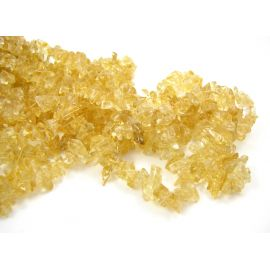 Garnet chips strand 3 - 7 mm