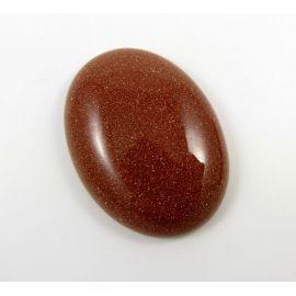 Solar stone cabochon 40x30 mm