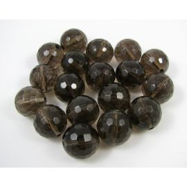 Turmalino quartz beads 6 mm